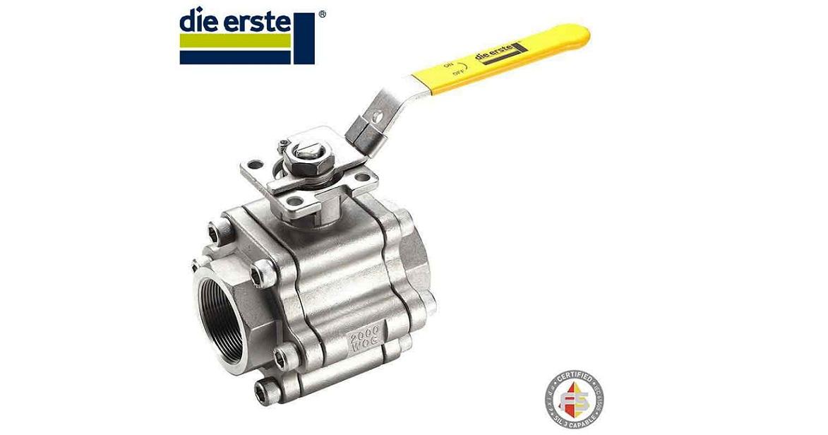 direct mount ball valve